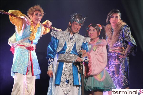OSK日本歌劇団 真・桃太郎伝説『鬼ノ城~蒼煉の乱~』舞台写真