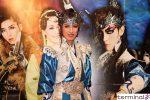 OSK日本歌劇団 高世麻央 囲み取材 真・桃太郎伝説 『鬼ノ城~蒼煉の乱~』