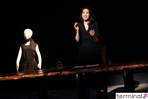 水 夏希さん主演 『パンク・シャンソン』~エディット・ピアフの生涯~ 舞台稽古