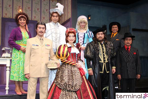ミュージカル・コメディ『キス・ミー・ケイト』 囲み取材・舞台写真