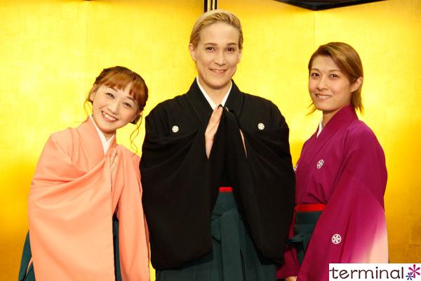 OSK日本歌劇団『レビュー春のおどり』製作発表記者会見