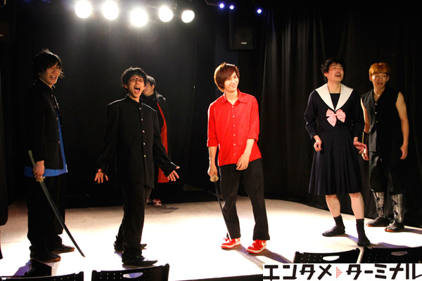 DERIVE 30-DELUX D-EMOTION 『ダブルフェイス』公開舞台稽古