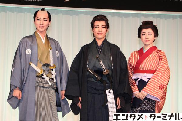 宝塚歌劇団 雪組公演『壬生義士伝』『Music Revolution!』制作発表会
