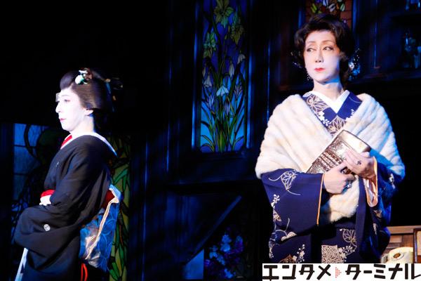 六月花形新派公演『夜の蝶』舞台稽古が行われました。