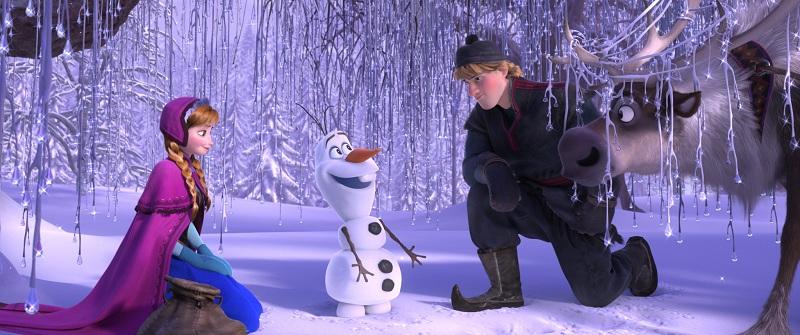 『アナと雪の女王』シーン画像
