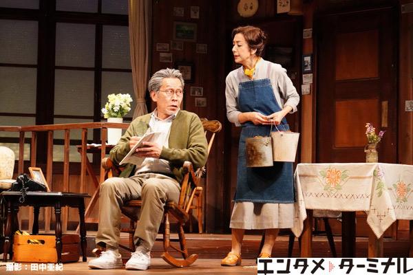 鵜山仁演出、高橋惠子主演舞台「黄昏」が開幕