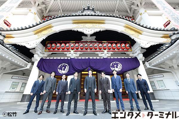 1月歌舞伎座「壽初春大歌舞伎」第一部『壽浅草柱建』出演者囲み取材レポート